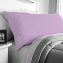Body Pillow Cover -  45x140cm - Violet - Cottonhome.ae