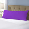 Body Pillow Cover 45x140cm - D.k Purple - Cottonhome.ae