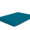 COTTON RICH SATEEN SINGLE FLAT SHEET TEAL-220 X 240 CM - Cottonhome.ae