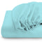 Rest Super soft Fitted sheet 160 X 200 + 30 CM-Sky blue - Cottonhome.ae
