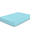 COTTON RICH SATEEN SINGLE FLAT SHEET TURQUOISE-160 X 220 CM - Cottonhome.ae