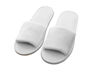 Luxurious Trimmed  Spa Slippers-2 Pieces - Cottonhome.ae