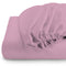 Rest Super soft Fitted sheet 120 X 200 + 25 CM-VIOLET - Cottonhome.ae