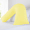 V-Shape Cover-Standard Size-Yellow - Cottonhome.ae