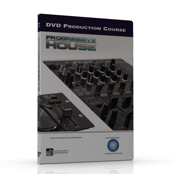 How to create UK Progressive House DVD video Tutorial