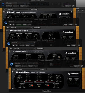How to use Soundtoys FilterFreak, Phasemistress, Tremolator, and Crystalizer