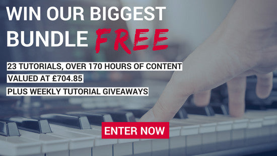 Win the Dance Music Production Anthology Bundle