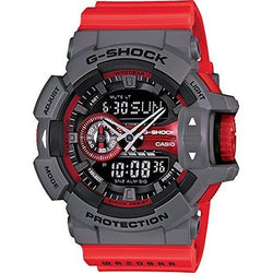 Casio - G-Shock - GA-400 Series - Grey/Red - GA400-4B