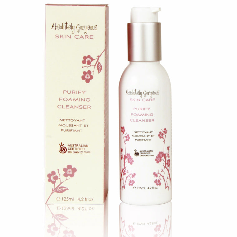 Certified Organic Purifying Foam Cleanser
