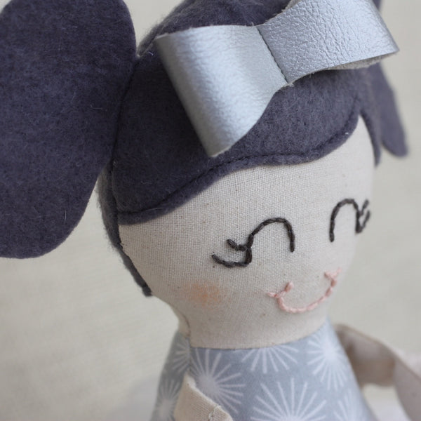 Handmade 'Bella' Ballerina Eco-Friendly Doll