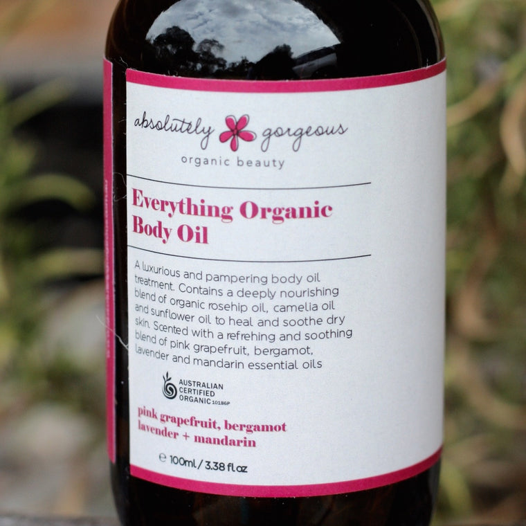 Everything Organic Body Oil