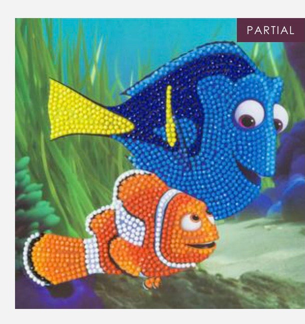 Disney crystal art card kit - Dory