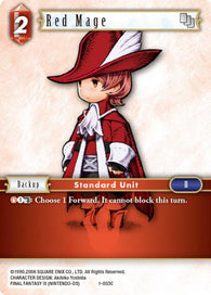 1-003C Red Mage FOIL