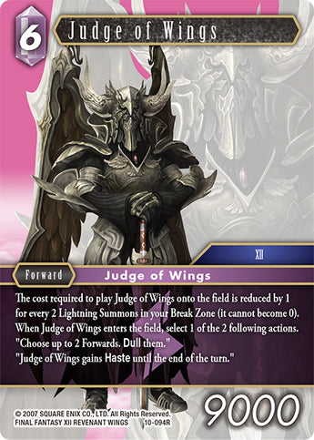 10-094R Judge of Wings