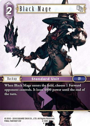2-108C Black Mage Playset