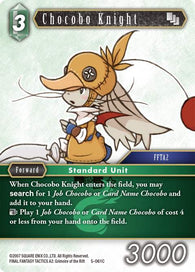 5-061C Chocobo Knight Playset