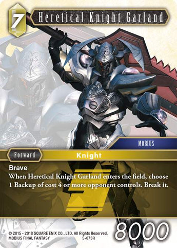 5-073R Heretical Knight Garland FOIL