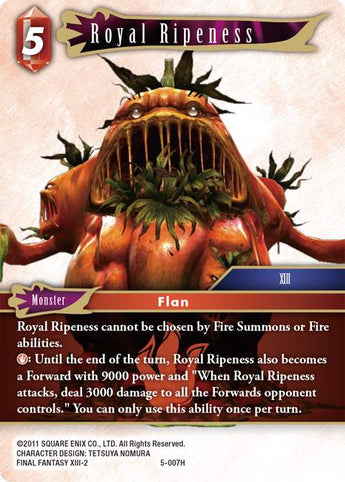 5-007H Royal Ripeness FOIL