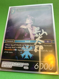 1-041L Squall signed by Kageyama