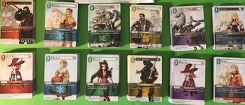 Opus I Complete Common and Rare Playsets