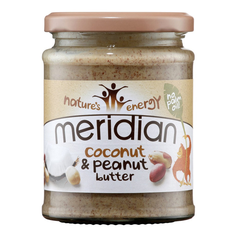 Meridian  Coconut & Peanut Butter 280g - honearthly