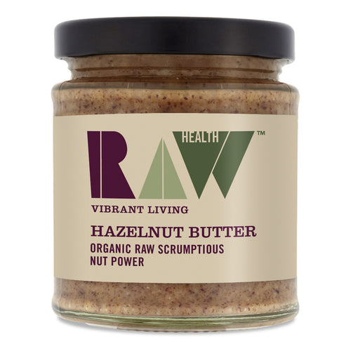 Whole Hazel Butter - Organic 170g - honearthly