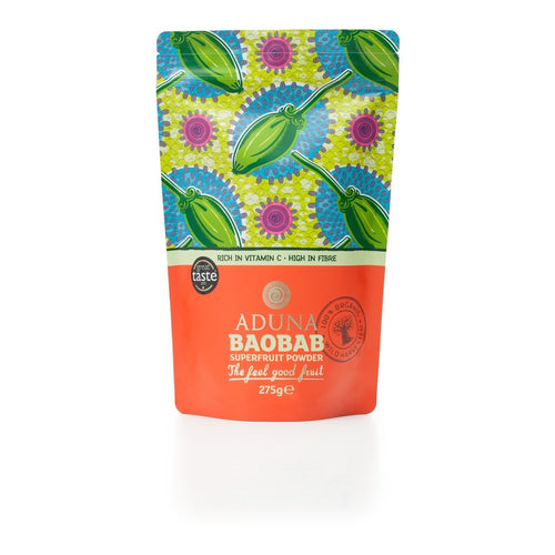 100% Organic Baobab Superfruit Powder 275g