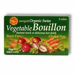 Bouillon Cubes (Green) Yeast Free 8s x 12 - honearthly