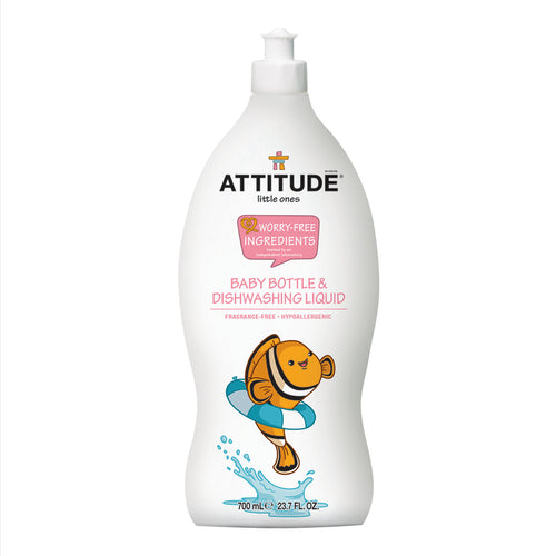 Little Ones Washing Up Liquid - Fragrance Free 700ml - honearthly