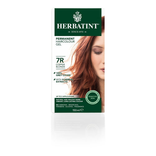 Herbatint 7R Copper Blonde 120ml - honearthly