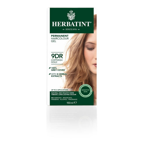 Herbatint 9Dr Copperish Gold 120ml - honearthly
