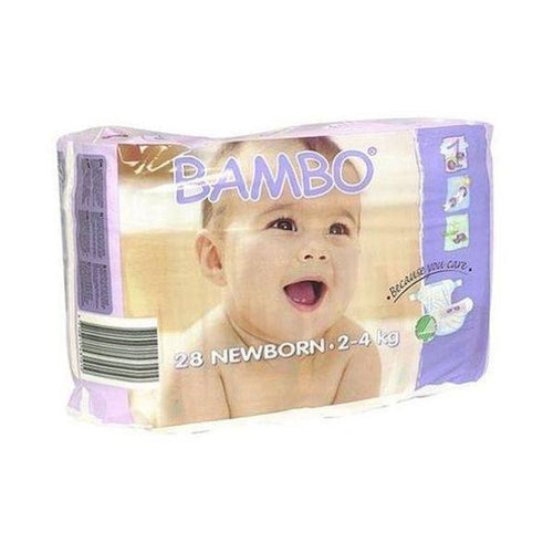 Bambo Nature  Nappies - New Born Size 1 28s