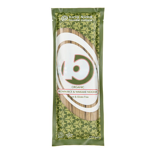 Brown Rice & Wakame Noodles 250g - honearthly
