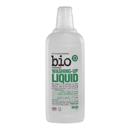 Washing Up Liquid 750ml - honearthly