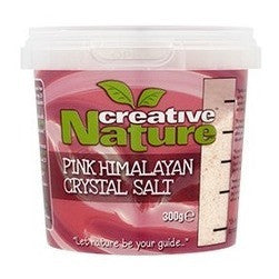 Creative Nature  Pink Himalayan Fine Crystal Salt 300g - honearthly