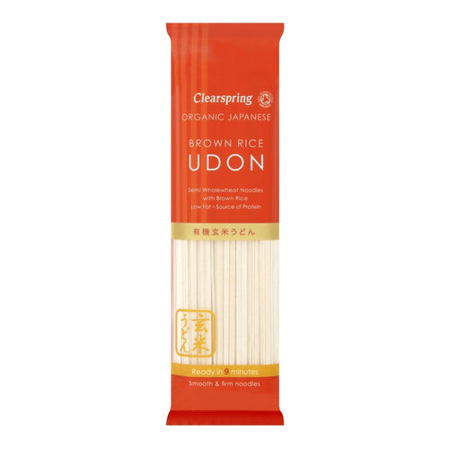 Japanese Brown Rice Udon 200g - honearthly
