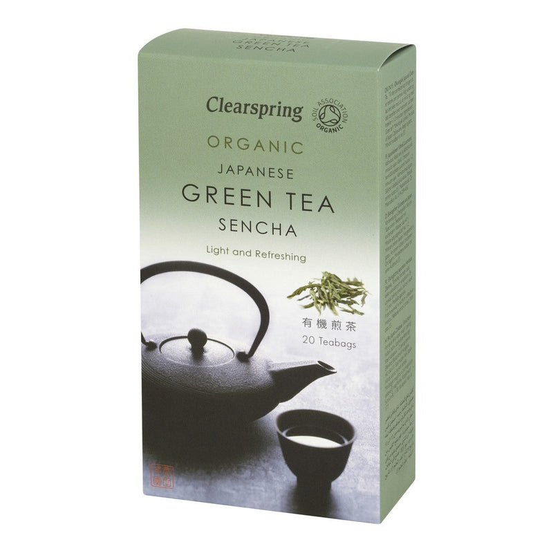 Sencha Green Tea 20 Bags - honearthly