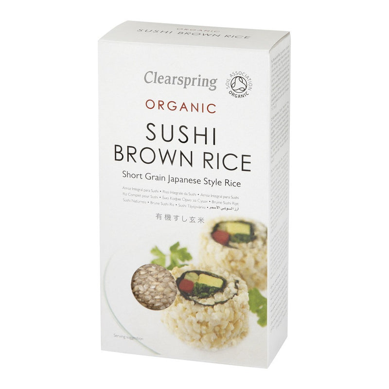 Sushi Brown Rice 500g - honearthly