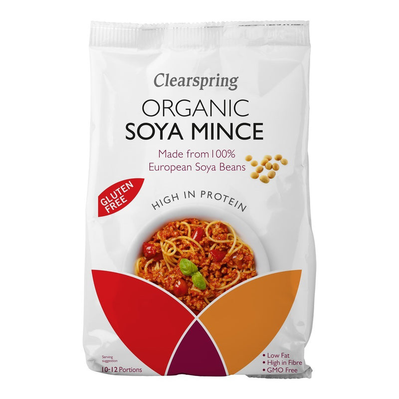 Clearspring  Organic Soya Mince 300g - honearthly
