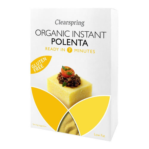 Organic & Gluten Free Instant Polenta 200g - honearthly
