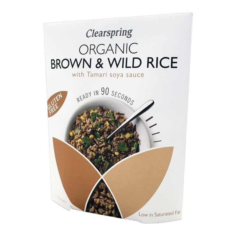 90 Second Brown Rice with Tamari 250g - honearthly