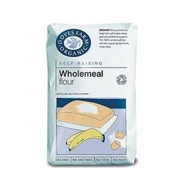 Wholemeal Self Raising Flour - Organic 1kg - honearthly