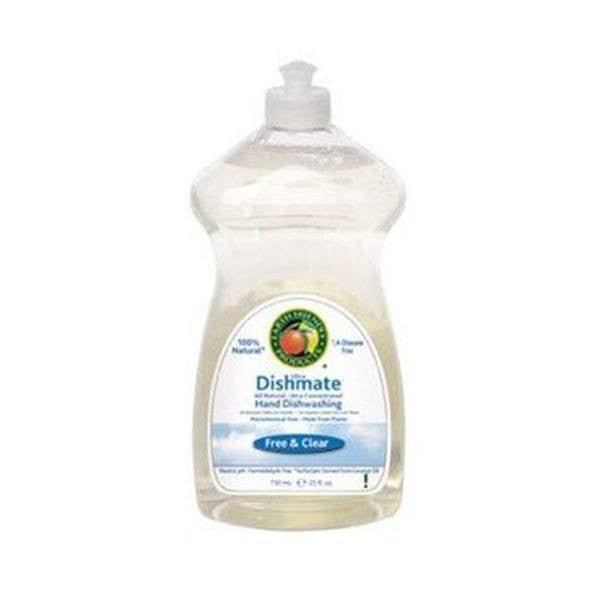 Dishmate Washing Up Liquid - Fragrance Free 750ml - honearthly