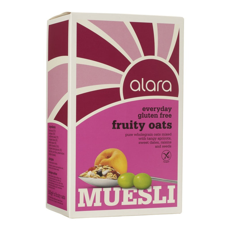 Everyday Muesli - Fruity Oat Gluten Free 500g - honearthly