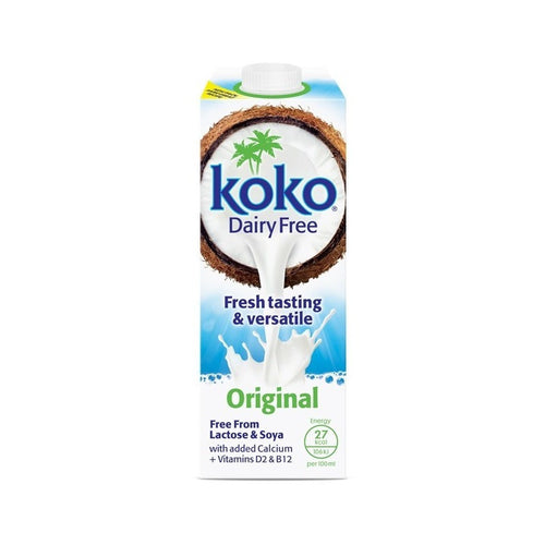 Dairy Free Original Coconut Milk + Calcium 1Ltr
