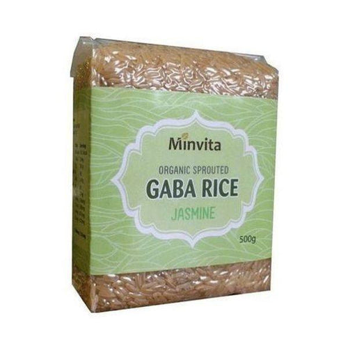 Organic Gaba Rice - Jasmine 500g - honearthly