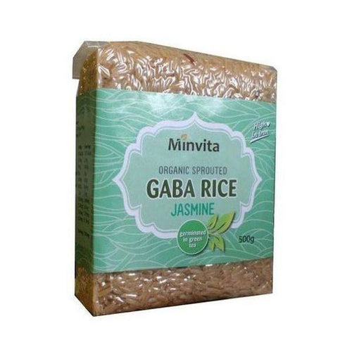 Organic Gaba Rice - Jasmine Green 500g - honearthly