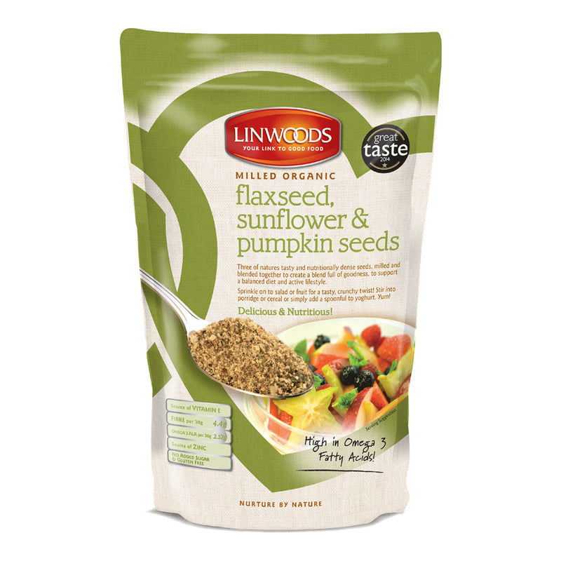 Flaxseed Sunflower & Pumpkin 200g - honearthly