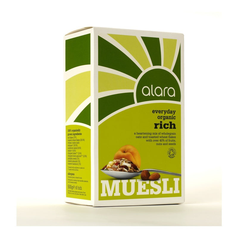 Muesli - Organic Rich 500g - honearthly