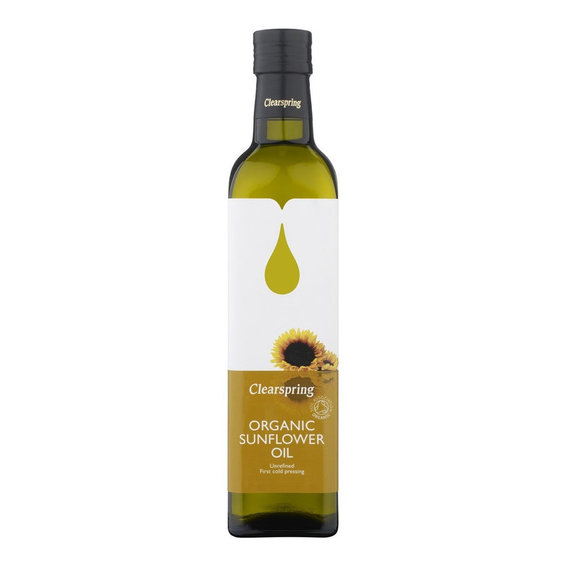 Sunflower Oil - Organic 500ml - honearthly